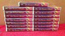 Lot of 15 Beauty and the Beast (VHS, 1992) ~ Walt Disney's Black Diamond Classic
