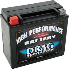 Drag Specialties Motorcycle AGM Battery 1983-1993 Harley Sport Glide - FXRT