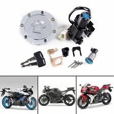For Honda CBR1000RR 04-07 CBR600RR Ignition Switch Lock Fuel Gas Cap Key Set Kit