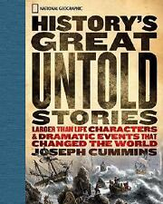 History's Great Untold Stories: The Larger Than Life Characters and Dr-ExLibrary