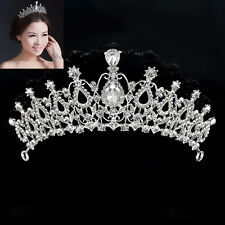 Luxury Bridal Wedding Crystal Rhinestone Hair Headband Crown Comb Tiara Prom New