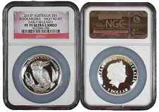 2012-P $1 Silver Australia Kookaburra High Relief NGC PF70UC Early Releases