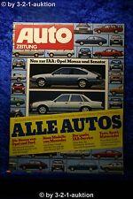 Auto Zeitung 19/77 DB 450 SLC 5.0 Leichtbau DB 280 TE+ Betti Poster (Opel Rekord