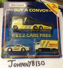Raro Woolworths/Matchbox Convoy-Porsche Carrera Equipo Set-Nuevo..