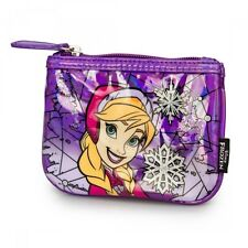 Disney Frozen Anna Stained Glass Faux Leather Coin Bag