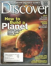 Discover July 2005 Brain on Video Games/Iraq's Marshlands/How To Build a Planet