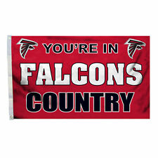 YOU'RE IN ATLANTA FALCONS COUNTRY FLAG NEW 3x5 ft
