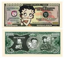 Betty Boop One Million Dollar Bill Hollywood
