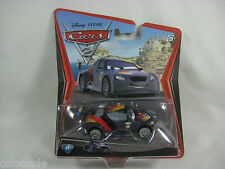 Max Schnell Disney Pixar Cars 2 Movie Diecast German Car #21 New