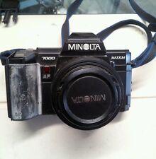 MINOLTA MAXXUM 7000 35mm Autofocus Camera And Lens