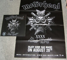 Motörhead - Bad Magic (1st Pressing, White Vinyl, 2000, Poster, CD, New&Sealed)