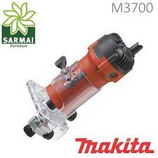 RIFILATORE MAKITA M3700 FRESA A MANO 570W 6mm MACCHINA PROFESSIONALE