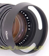 E43 Vented Metal Lens Hood 43mm for LEICA Summilux-M 1.4/50 SUMMILUX 1:1.4/50mm