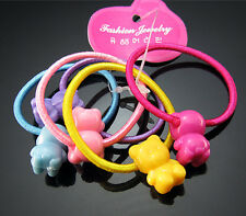 FREE 20PCS Elastic Girl Hair Ties Bands Headband Rope Scrunchie Ponytail Holder