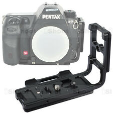 Vertical Shoot Quick Release Plate/Camera Bracket Grip fr Pentax K7/K5/KR/KX/K30