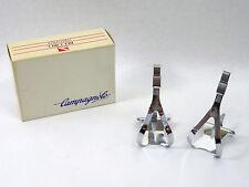 Campagnolo pedal Toe Clips C Record Adjustable Vintage Road Racing Bicycle NOS