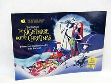 TNBC Nightmare Before Christmas TOUCHSTONE Video story book Promo 11 pages story