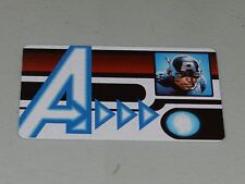 Marvel Heroclix Age of Ultron Captain America ID Card AUID-103
