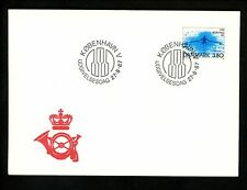 Postal History Denmark FDC #842 sports rowing 1987