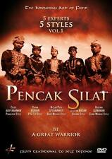 Pencak silat 5 experts 5 styles be a great warrior DVD