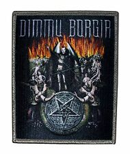"""Dimmu Borgir"" Satanic Band Art Black Metal Music Scene Iron On Applique Patch"