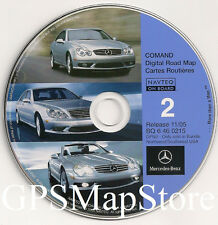 2000 2001 2002 Mercedes E55 E430 E320 Navigation CD Map AZ CO ID OR NM WA WY UT