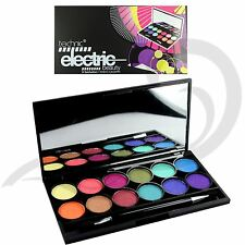 Technic Electric Eyes Eyeshadow Palette 12 Bright Metallic Colours