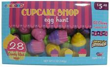 Brach's Cupcake Egg Hunt Chewy Lemonhead 28 Candy Filled Eggs Easter