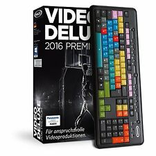 MAGIX Video deluxe 2016 Control - NEU & OVP
