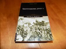 GETTYSBURG JULY 1 First Day Battle Civil War Confederate Union Armies Book NEW
