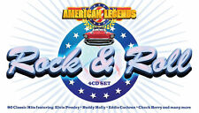 American Legends 4 CD 50s 60s Rock & Roll Music Songs