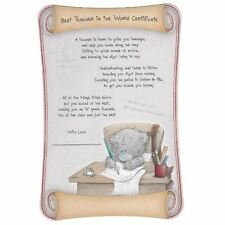 Me to You Tatty Teddy Gift - Best Teacher Certificate