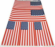 HUGE USA US AMERICAN FLAG DECAL WINDOW  CLING PATRIOTIC STICKER AUTO HOME BOAT