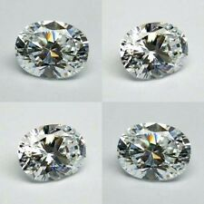 2 ct Brilliant Oval  (9x7 mm) Russian Simulated Diamond 6AAAAAA Quality K3