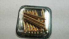 Cartier Panthere MM spring bar gold, set of 10, NOS, Sealed, special spring bars