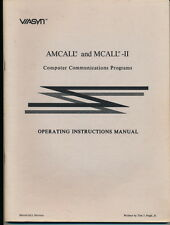 AMCALL & MCALL-II  S-100 Computer Comm Programs - Operating Manual