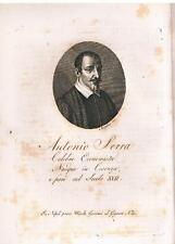 Cosenza - Calabria - Economisti - Antonio Serra - MORGHEN INC.