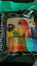 10 lb Bag Roudybush MINI Maintenance Pellets Bird Food Caique Conure Quaker Ring