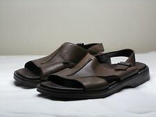 Men's MEPHISTO Brown Leather Slingback Sandals Size EU 41 US 8