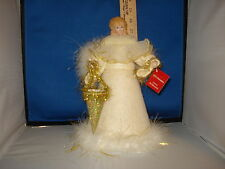 Tree Topper Angel with felt dress and cone 921480 518