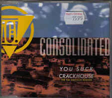 Consolidated- You Suck Crackhouse cd maxi single