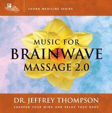 MUSIC FOR BRAINWAVE MASSAGE 2.0 - Thompson .. CD .. NEW