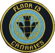 Red Dwarf Floor 13 Canaries Badge Embroidered Patch 9cm
