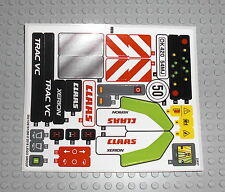 LEGO Technic 42054 Claas Xerion 5000 Trac - AUFKLEBER / STICKER Decals Stickers