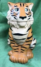 Candy Pen Pencil Paperclip CONTAINER Holder Office ORGANIZER ~ Circus Tiger