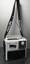 Cintas de estéreo radio radio Phillips Moving Sound Boombox radiocasete ~ 80er
