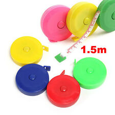1.5m 59'' Sewing Retractable Ruler Tape Measure Pocket Band Craft Clothes Metric