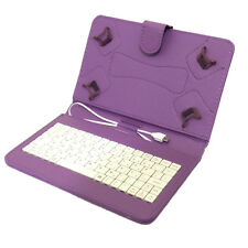 TESCO HUDL 1 & 2 CASE COVER PU LEATHER inc BUILT IN KEYBOARD HUDLE 7 & 8.3 inch