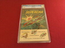 "1962 1st Issue  "" SUPERCAR ""  RARE CGC GRADED GOLD KEY ORIGINAL COMIC BOOK"