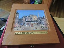 MONTECRISTO LE CIGARE DES ARTS - MICHEL DELACROIX - COLLECTIBLE BOX
